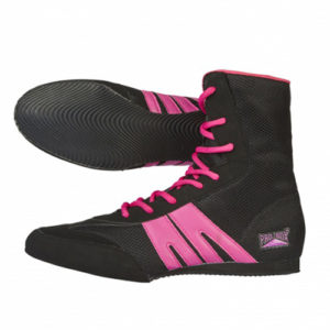 Pro-Box Junior Boxing Boot – Black/Pink