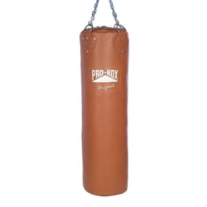 Pro-Box Original Leather Punchbag – Brown/Authentic