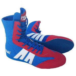 Pro-Box Junior/Kids Boxing Boot – GB Style Blue/Red