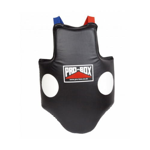 Pro-Box Heavy Hitters Coaches Body Protector – Black/White