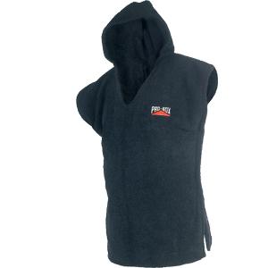 Pro-Box Junior Hooded Toweling Poncho – Black