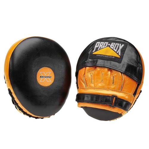Pro-Box 'Xtreme' Air Focus Pads – Black/Orange