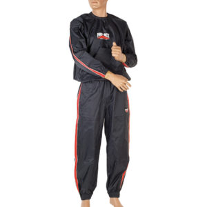 Pro-Box Sauna Suit – Black/Red