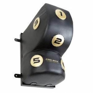 Pro-Box Champ PU Uppercut Wall Pad – Black/Gold