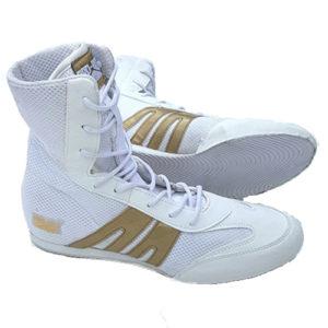 Pro-Box Junior/Kids Boxing Boot – White/Gold
