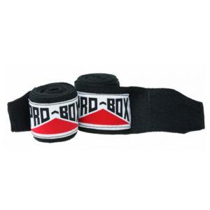Pro-Box AIBA Spec Handwraps – Black