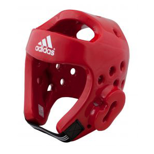 adidas WTF Approved Dipped Foam Head Guard – Red