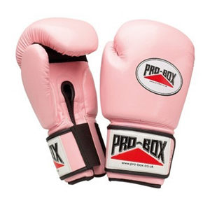 Pro-Box Women's PU Boxing Training Gloves – Pink