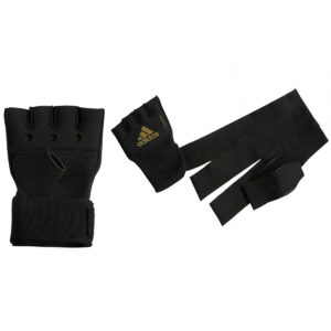 adidas Boxing Quick Wrap/Punch – Black/Gold