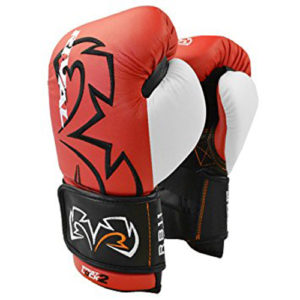 Rival RB11 Evolution Sparring Double Strap Bag Glove – Red
