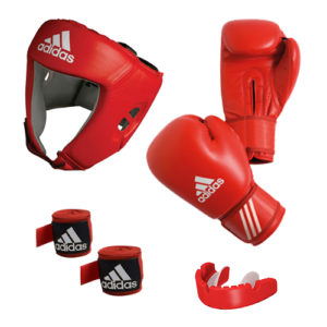 adidas AIBA Boxing Set 2 – Red