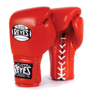 Cleto Reyes Lace Up Sparring Gloves – Red