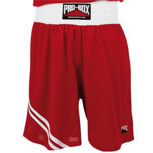 Pro-Box Club Boxing Shorts – Red