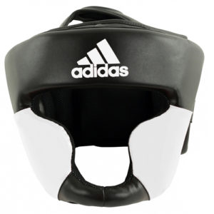 adidas Response Leather Head Guard – Black/White