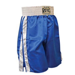 Cleto Reyes Boxing Shorts – Blue/White