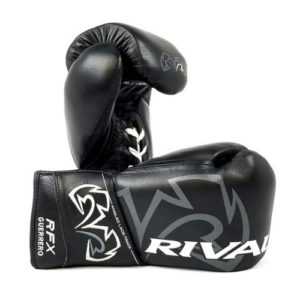 Rival RFX Guerrero Pro Fight Lace Up Glove – Black