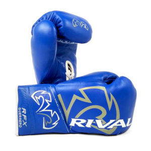 Rival RFX Guerrero Pro Fight Lace Up Glove – Blue