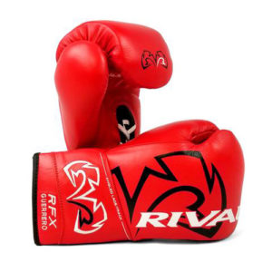 Rival RFX Guerrero Pro Fight Lace Up Glove – Red