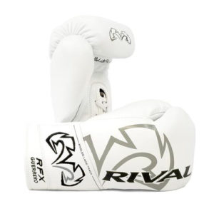 Rival RFX Guerrero Pro Fight Lace Up Glove – White