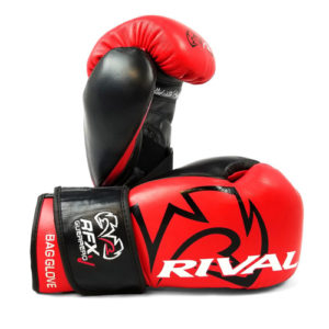 Rival RFX Guerrero Pro Fight Glove with Strap – Red/Black