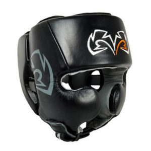 Rival RHG20 Cheek Training Headguard – Black/Black