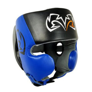 Rival RHG20 Cheek Training Headguard – Blue/Black