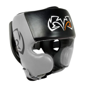 Rival RHG20 Cheek Training Headguard – Grey/Black
