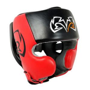 Rival RHG20 Cheek Training Headguard – Red/Black