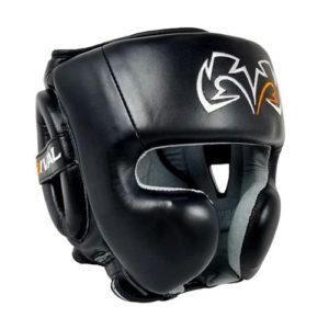 Rival RHG30 Boxing Training Headgear – Black/Black