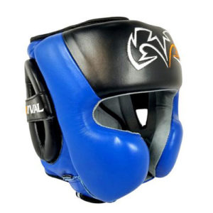Rival RHG30 Boxing Training Headgear – Black/Blue