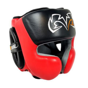 Rival RHG30 Boxing Training Headgear – Black/Red