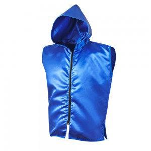 Sleeveless Ring Jacket – Blue