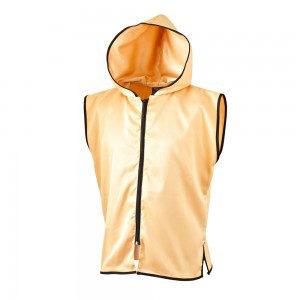 Sleeveless Customised Ring Jacket – Gold