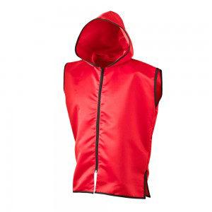 Sleeveless Ring Jacket – Red