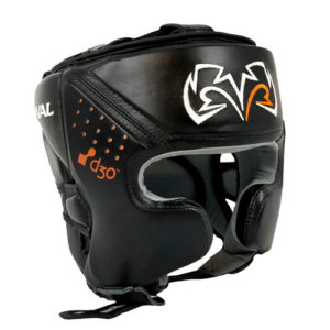 Rival RHG10 INTELLI-SHOCK Headgear – Black/Black
