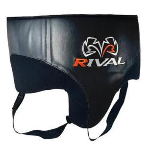 Rival RNFL10 Leather 360 Groin Protector – Black/Black