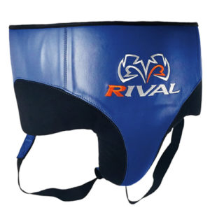 Rival RNFL10 Leather 360 Groin Protector – Blue/Black