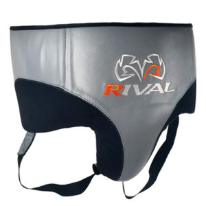 Rival RNFL10 Leather 360 Groin Protector – Grey/Black
