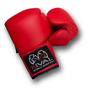 Rival Autograph Boxing Glove – Red [Leather or PU]