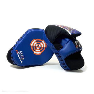 Rival High Performance Signature Series Punch Mitts – Black/Blue.