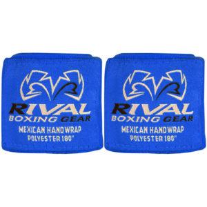 Rival Mexican 180″ Handwraps – Blue