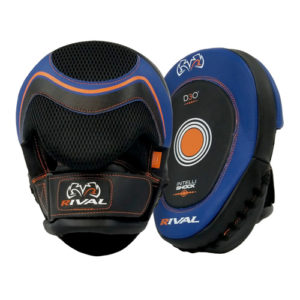 Rival d3o RPM10 Punch Mitts – Black & Blue