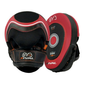 Rival d3o RPM10 Punch Mitts – Black & Red