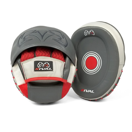 Rival RPM80 Impulse Punch Mitts – Grey/White/Red