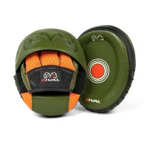Rival RPM80 Impulse Punch Mitts – Khaki Green