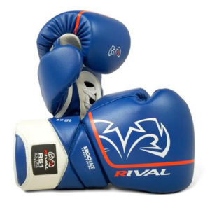 Rival High Performance RS1 [2.0] Lace-Up Pro Sparring Gloves – Blue