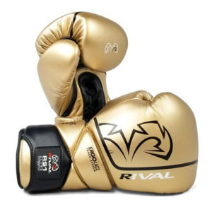 Rival High Performance RS1 [2.0] Lace-Up Pro Sparring Gloves – Gold
