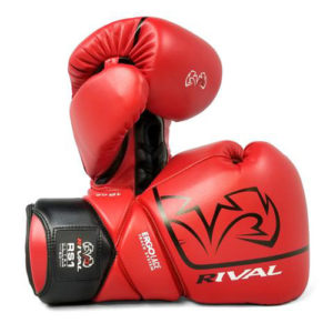 Rival High Performance RS1 [2.0] Lace-Up Pro Sparring Gloves – Red