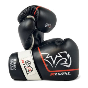 Rival High Performance RS2V [2.0] Hook-and-Loop Pro Sparring Gloves – Black