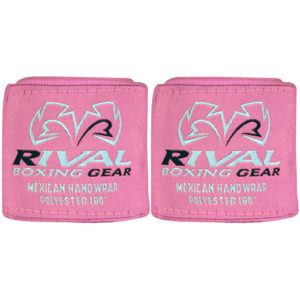 Rival Mexican 180″ Handwraps – Pink